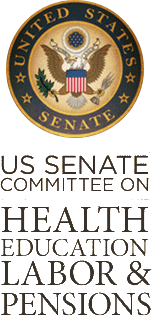 US Senate Committee on Health Education & Labor Pensions Seal